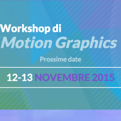 Workshop Motion Graphic capodilucca Bologna