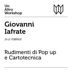 workshop pop up e cartotecnica